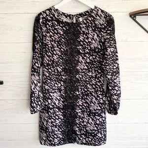 Xhilaration Leopard and Lace Dress